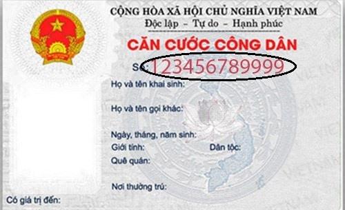 Ý nghĩa của 12 số trên thẻ căn cước công dân
