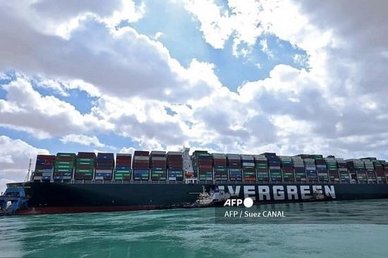 Siêu tàu mắc kẹt ở Kênh đào Suez: Doanh nghiệp xuất khẩu Việt vào thế khó