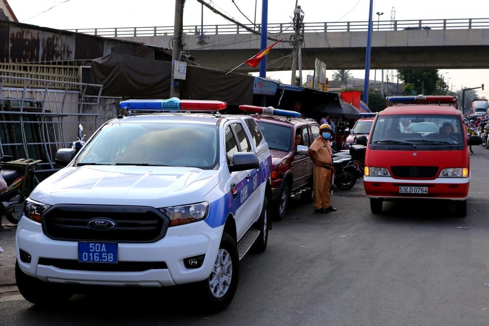 Thành phố Hồ Chí Minh: Cháy nhà trong đêm, 6 người tử vong