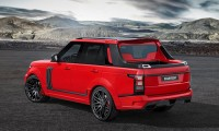 Range Rover lột xác thành xe bán tải