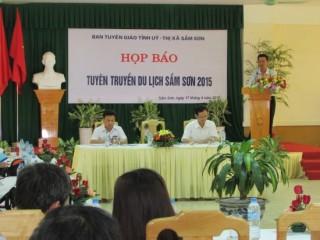 Thanh Hóa: Họp báo chuẩn bị khai trương du lịch biển Sầm Sơn