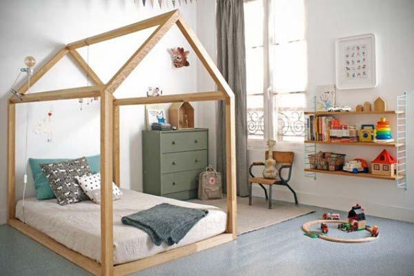 Những ý tưởng sáng tạo trang trí phòng cho trẻ em