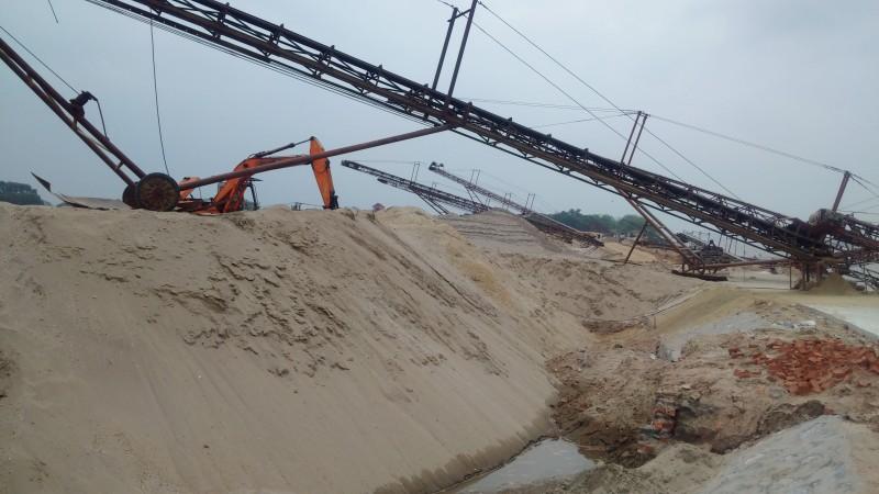 Khai thác cát, sỏi trái phép, sẽ bị phạt tới 500 triệu đồng