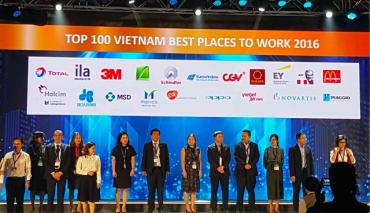 Eurowindow – Công ty duy nhất trong lĩnh vực sản xuất cửa vào Top 100 Nơi làm việc tốt nhất Việt Nam 2016