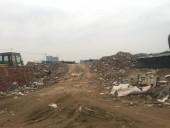 Tái diễn tình trạng đổ trộm vật liệu xây dựng