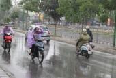 Chiều tối nay Hà Nội có mưa rào và giông