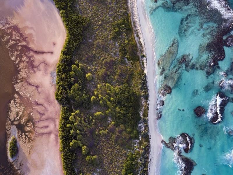 Ảnh đẹp trong tuần: Toàn cảnh vùng Caribe nhìn từ trên không
