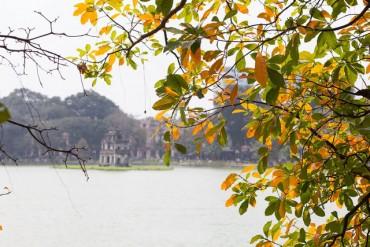 Ngỡ ngàng vẻ đẹp của Hà Nội trong tiết giao mùa tháng 4