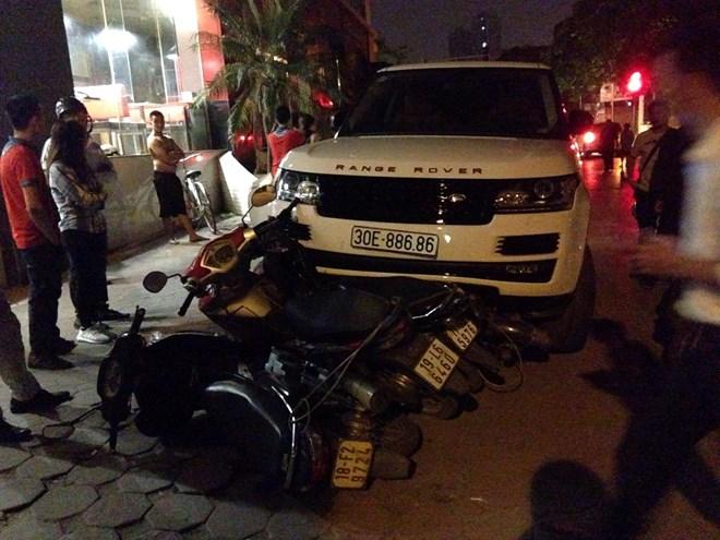 Bắt giữ đối tượng lấy trộm ôtô, gây tai nạn liên hoàn ở Hà Nội