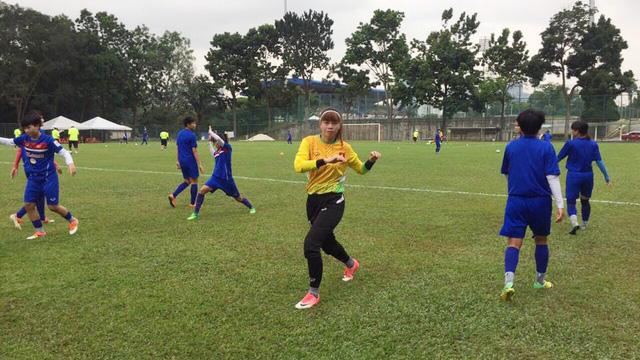 Đội tuyển nữ Việt Nam sẵn sàng cho VCK nữ châu Á 2018