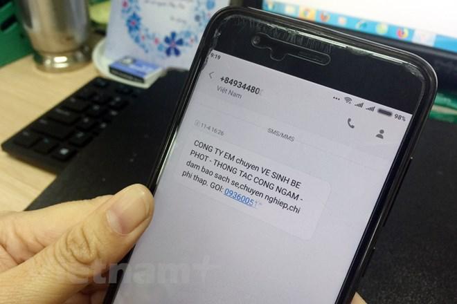 Phát tán tin nhắn rác ngày càng chuyên nghiệp, bài bản