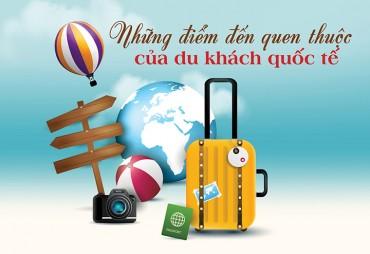 (Infographic) - Những điểm đến vạn người mê của du lịch Việt