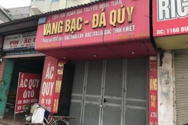 Hà Nội: Xác định danh tính nghi phạm cầm súng cướp tiệm vàng