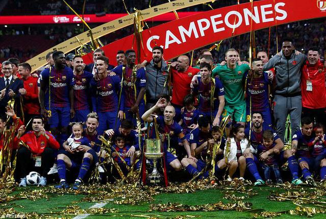 Barca 5-0 Sevilla: Đẳng cấp vượt trội