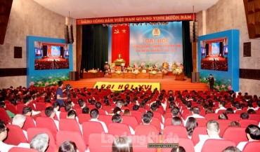 Ngày làm việc thứ nhất Đại hội XVI Công đoàn Thành phố Hà Nội, nhiệm kỳ 2018-2023