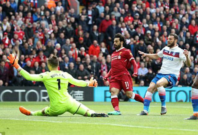 """Liverpool 0-0 Stoke: Ngày Salah """"vô duyên"""""""