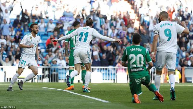 Real Madrid 2-1 Leganes: Kết quả như ý, bảo toàn lực lượng