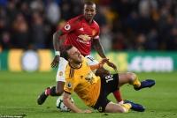 Wolves 2-1 Man Utd: 'Bầy sói' lại gieo sầu cho Solskjaer