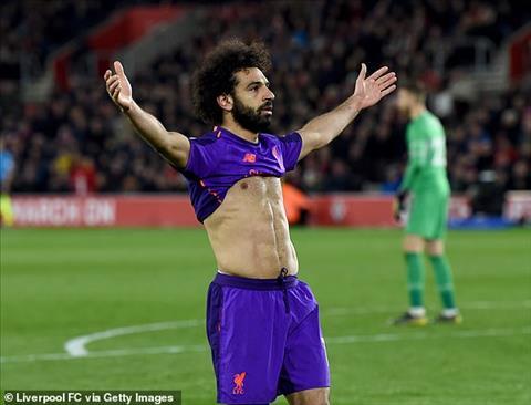 """Southampton 1-3 Liverpool: Salah """"nổ súng"""" sau hai tháng tịt ngòi"""