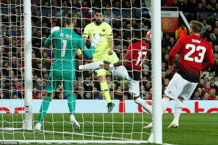 Man Utd 0-1 Barcelona: Khác biệt đẳng cấp