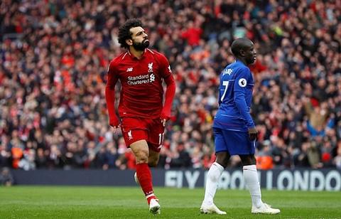 Liverpool 2-0 Chelsea: Salah lập siêu phẩm, Liverpool hạ gục Chelsea