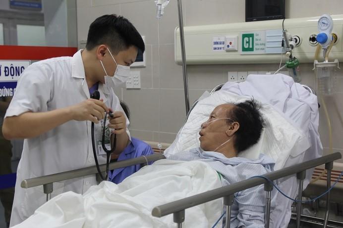 Gia tăng bệnh nhân đột quỵ vì nắng nóng