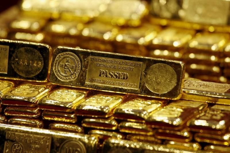 Giá vàng đang tăng rất nhanh