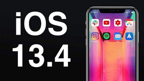 Apple tung bản iOS 13.4 sửa các lỗi nghiêm trọng trên iPhone