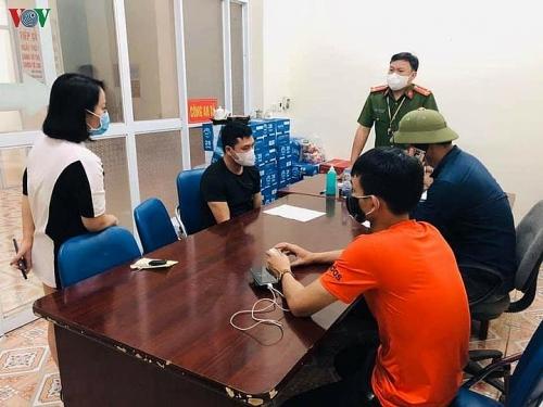 Quảng Ninh buộc 3 người quay về nơi cư trú vì trốn chốt kiểm dịch