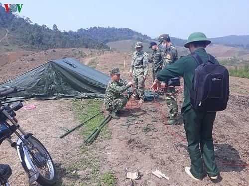 Hàng trăm chốt kiểm soát, ngăn dịch Covid-19 xâm nhiễm vào Sơn La