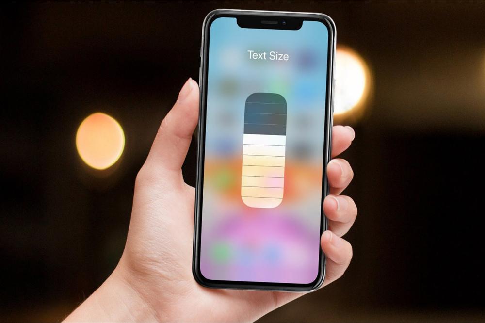 Mẹo tăng hoặc giảm nhanh cỡ chữ trên iPhone