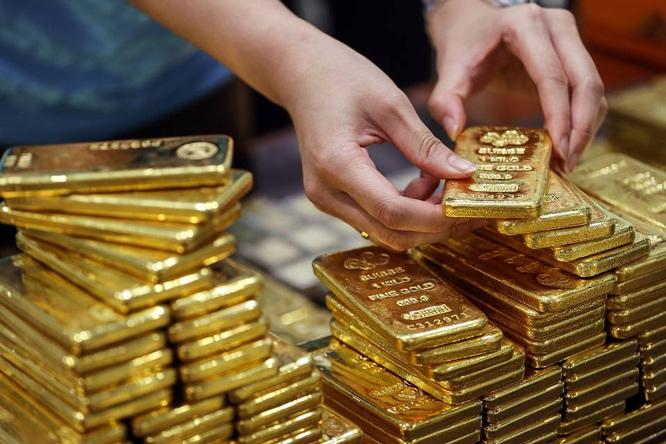 Tuần qua, giá vàng SJC tăng khoảng 400.000 đồng/lượng