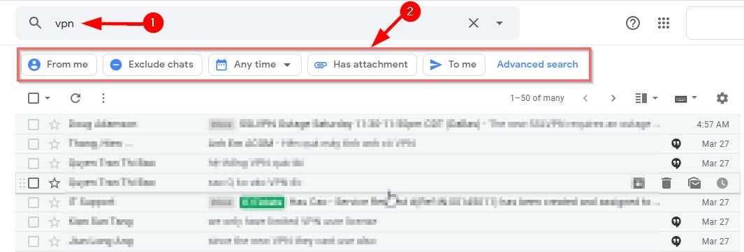 cach tim kiem nhanh trong gmail