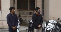 Bộ đôi gây ra 6 vụ trộm cắp xe máy trong một tháng