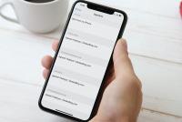 Cách đổi hoặc xóa chữ ký trong mail trên iPhone