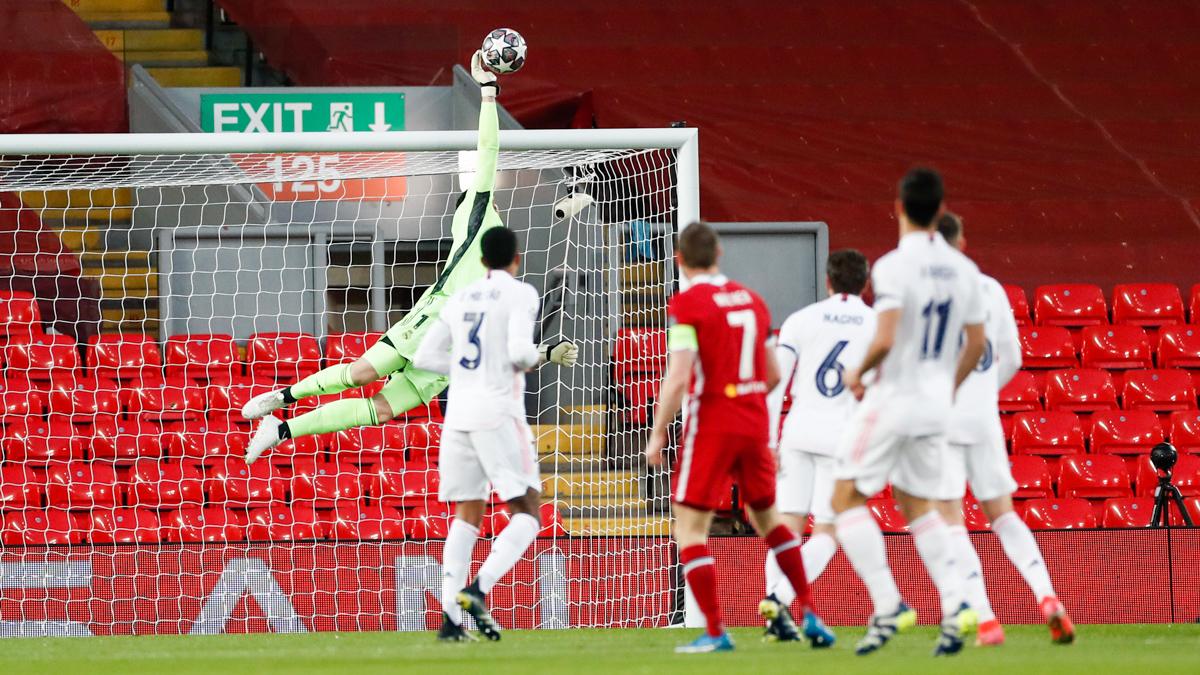 Liverpool 0-0 Real Madrid: Bất lực trước Thibaut Courtois