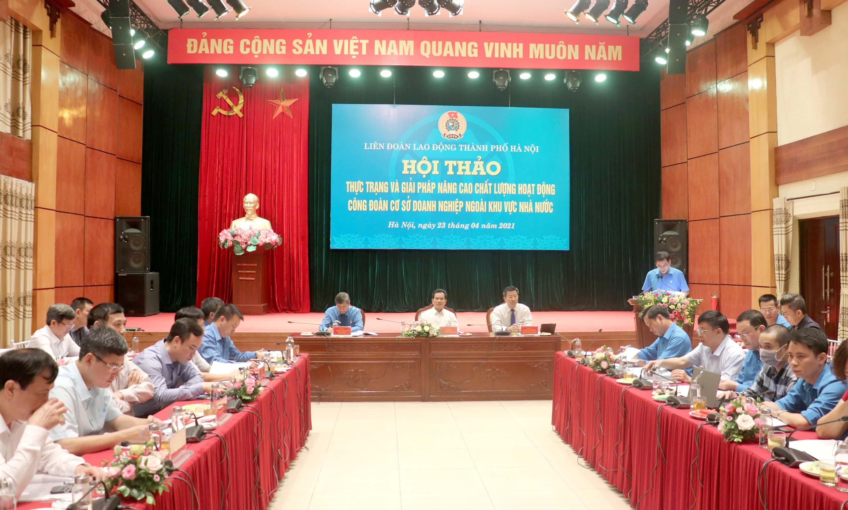 Nâng cao chất lượng hoạt động Công đoàn cơ sở doanh nghiệp ngoài Nhà nước
