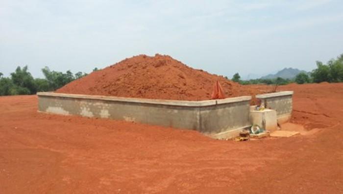 Thanh Hóa đào đất phát hiện ngôi mộ cổ