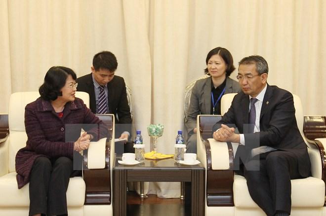 Phó Chủ tịch nước Đặng Thị Ngọc Thịnh bắt đầu thăm chính thức Mông Cổ