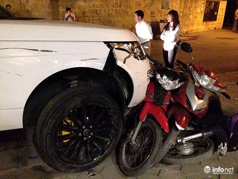 Khởi tố kẻ trộm ô tô Range Rover gây tai nạn liên hoàn