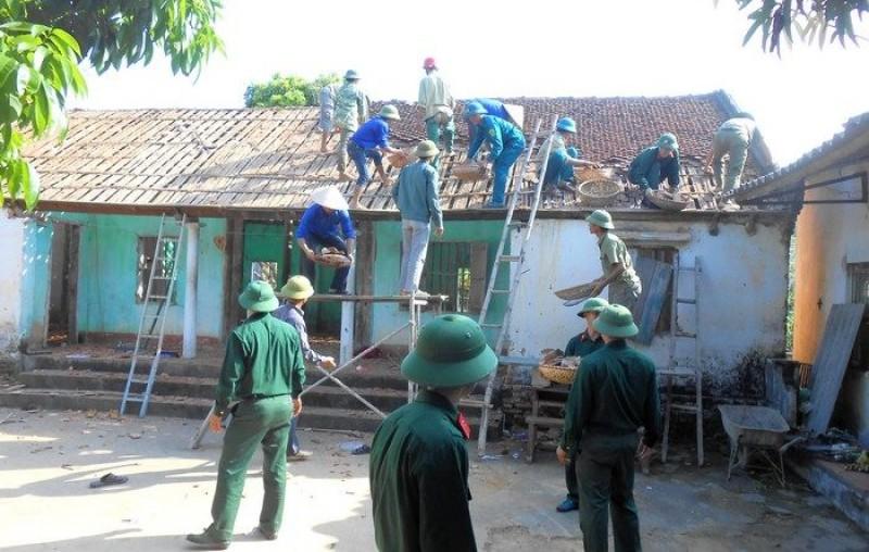 Hàng nghìn ngôi nhà được sửa chữa, xây mới