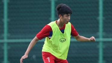 Trọng Đại có khả năng trở lại trong cuộc đối đấu với U20 Pháp