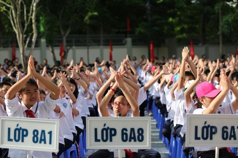 Nhiều trường hot của Hà Nội tổ chức thi tuyển vào lớp 6