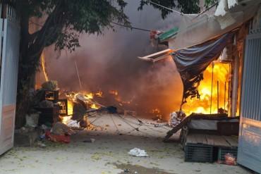 Tiềm ẩn nguy cơ cháy nổ ở các chợ dân sinh