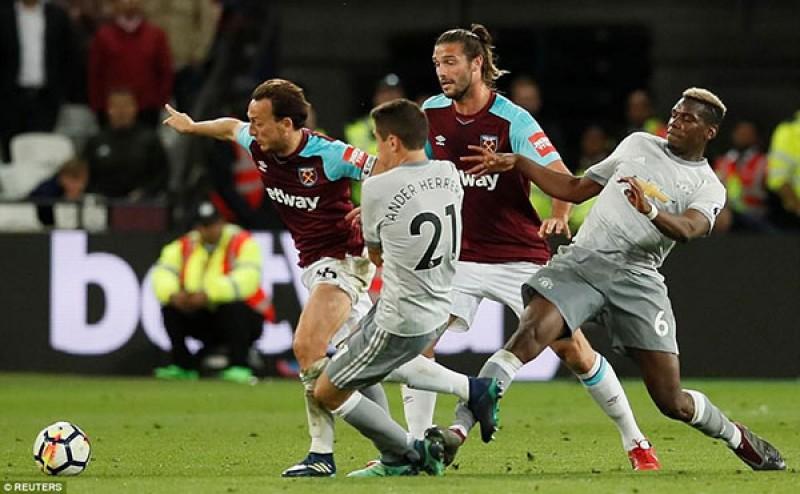 West Ham 0-0 Man Utd: Hoàn thành mục tiêu