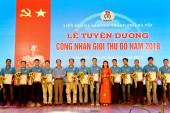 Trực tiếp hình ảnh Lễ tuyên dương Công nhân giỏi Thủ đô năm 2018