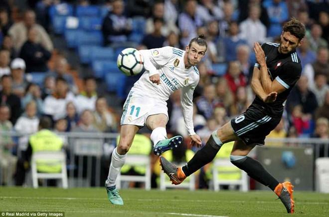 Bale lập cú đúp, Real Madrid hủy diệt Celta Vigo