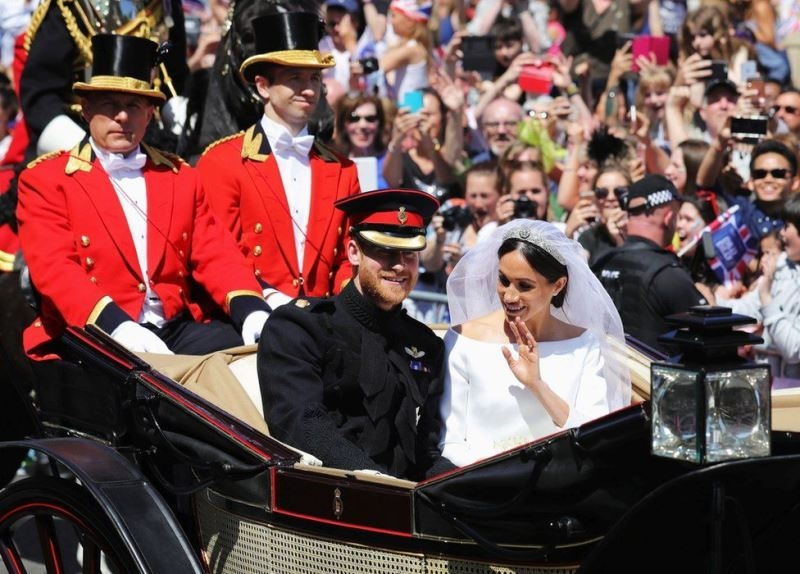 Đám cưới cổ tích của Hoàng gia