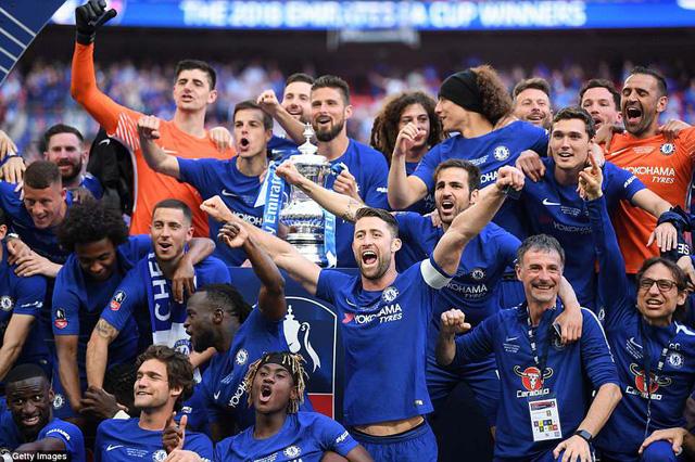 """Man Utd 0-1 Chelsea: Hạ """"quỷ đỏ"""", Chelsea đăng quang ở FA Cup"""