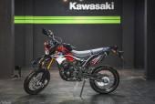 Ngắm 'cào cào phố' Kawasaki D-Tracker 150 đầu tiên ở Hà Nội